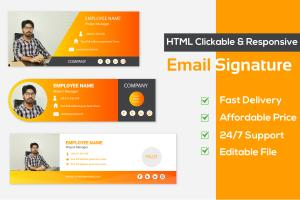 Portfolio for Design clickable HTML email signature