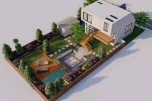 Portfolio for design beautiful landscape, site plans
