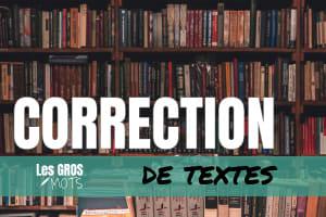 Portfolio for Native French Canadian Proofreader