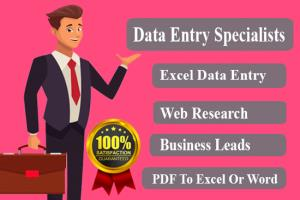 Portfolio for virtual assistant,data entry,web search