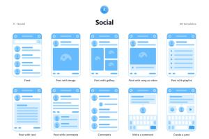 Portfolio for UI/UX Wireframes and Prototyping