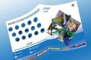 Portfolio for Aakash Brochure Design Services