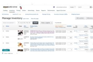 Portfolio for Dropshipping, listing in ecommerce store