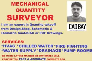 Portfolio for I will do Quantity Surveyor and Takeoff