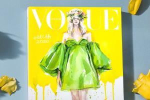 Portfolio for Watercolour fashion illustration