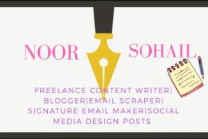 Portfolio for Expert In Content Writing and Blogging