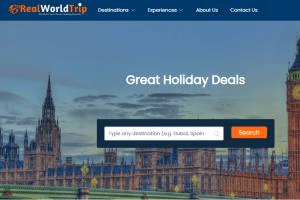 Portfolio for Holiday Vacation Portal Developement