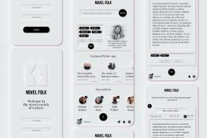 Portfolio for UI/UX, Graphic and Brand Designer