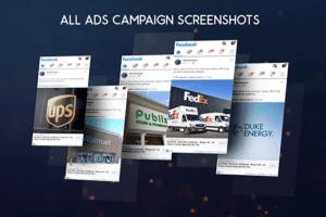 Portfolio for Facebook ads campaign manager