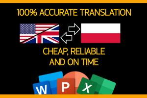 Portfolio for Accurate Translation [PL/ENG]
