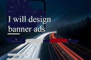 Portfolio for Banner Ads Designer and Creator