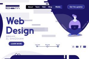 Portfolio for minimalist logo design illustrator