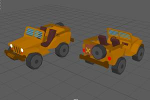 Portfolio for Low Poly Modeling for Game