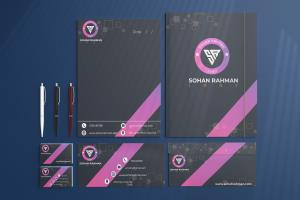 Portfolio for Stationery Design