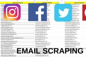 Portfolio for email scraper