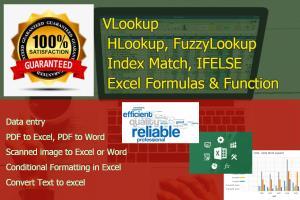 Portfolio for Microsoft Excel Work