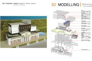 Portfolio for Architecture - 3D modeller - Draftsman