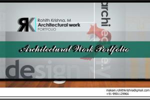 Portfolio for Architect, Interior Designer