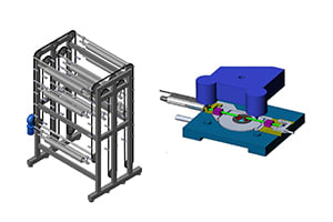 Portfolio for 3D CAD design and CAE of any model
