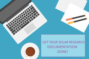 Portfolio for Research Documents on Solar Energy