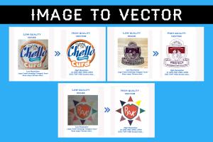 Portfolio for i can vector tracing from any image