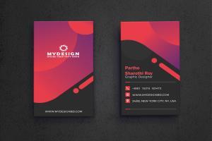 Portfolio for I will design unique luxury businesscard