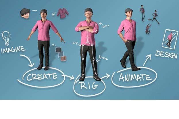 Portfolio for 3D modelling and Rigging.