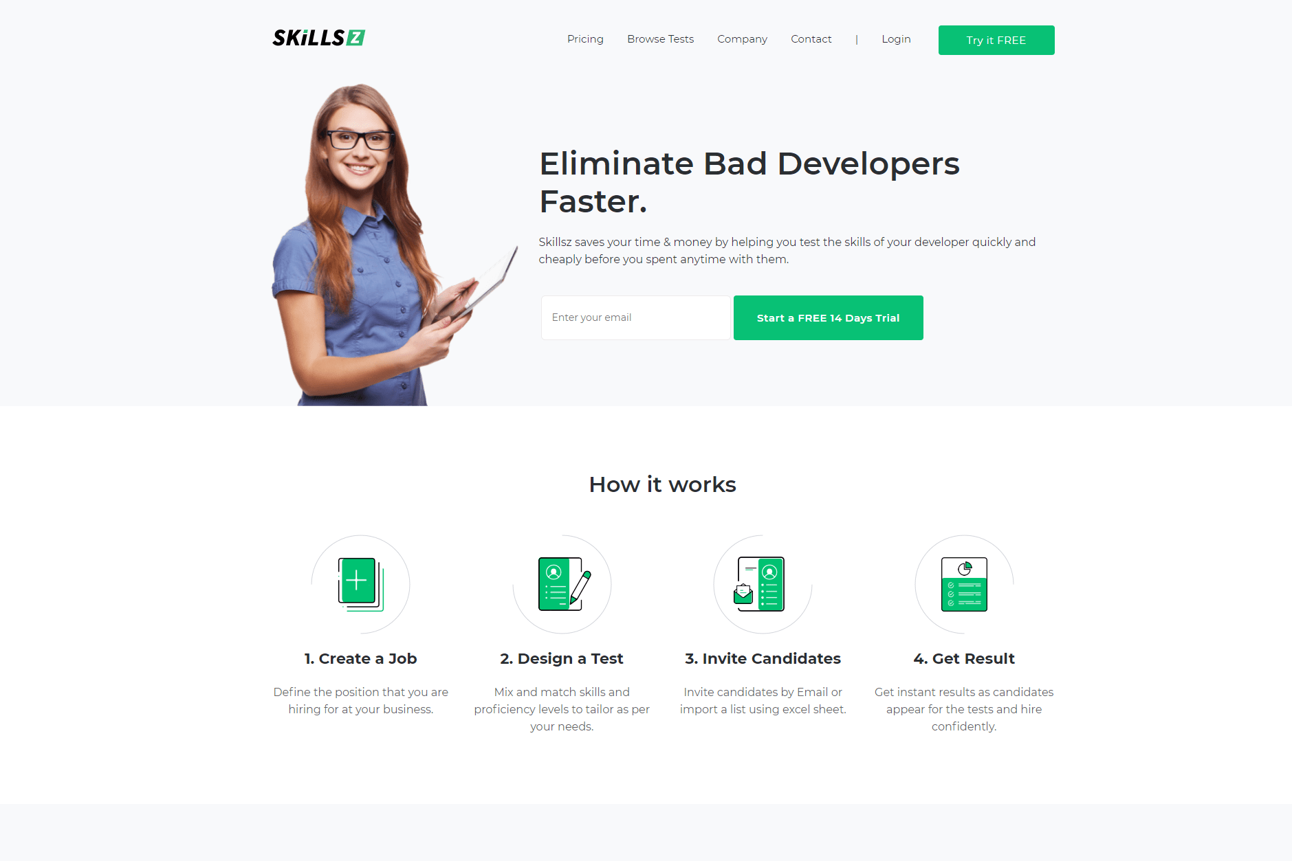 Portfolio for Full Stack Website Development