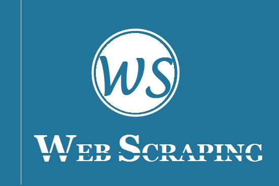 Portfolio for Web scrape or mine data from a Site