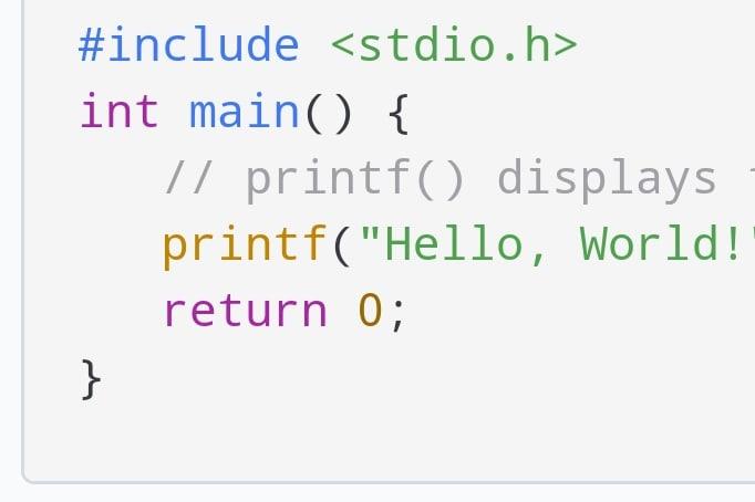 Portfolio for C Developer