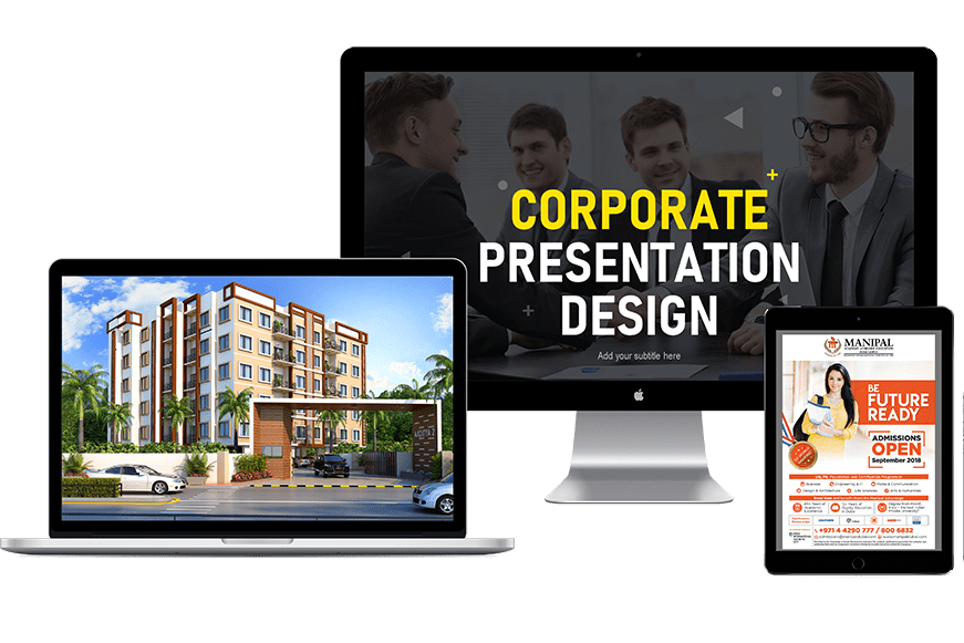 Portfolio for Presentation Design and Graphic Design