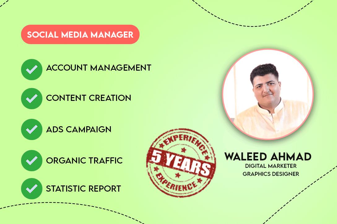 Portfolio for Social Media Manager