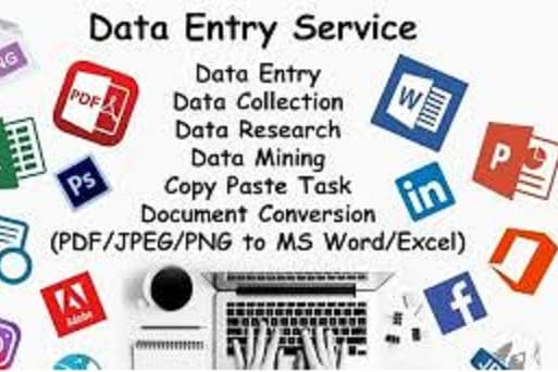 Portfolio for Data Entry and Book Keeping