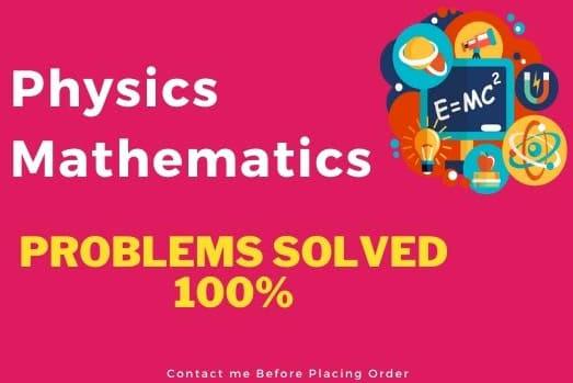 Portfolio for Physics and Math Expert