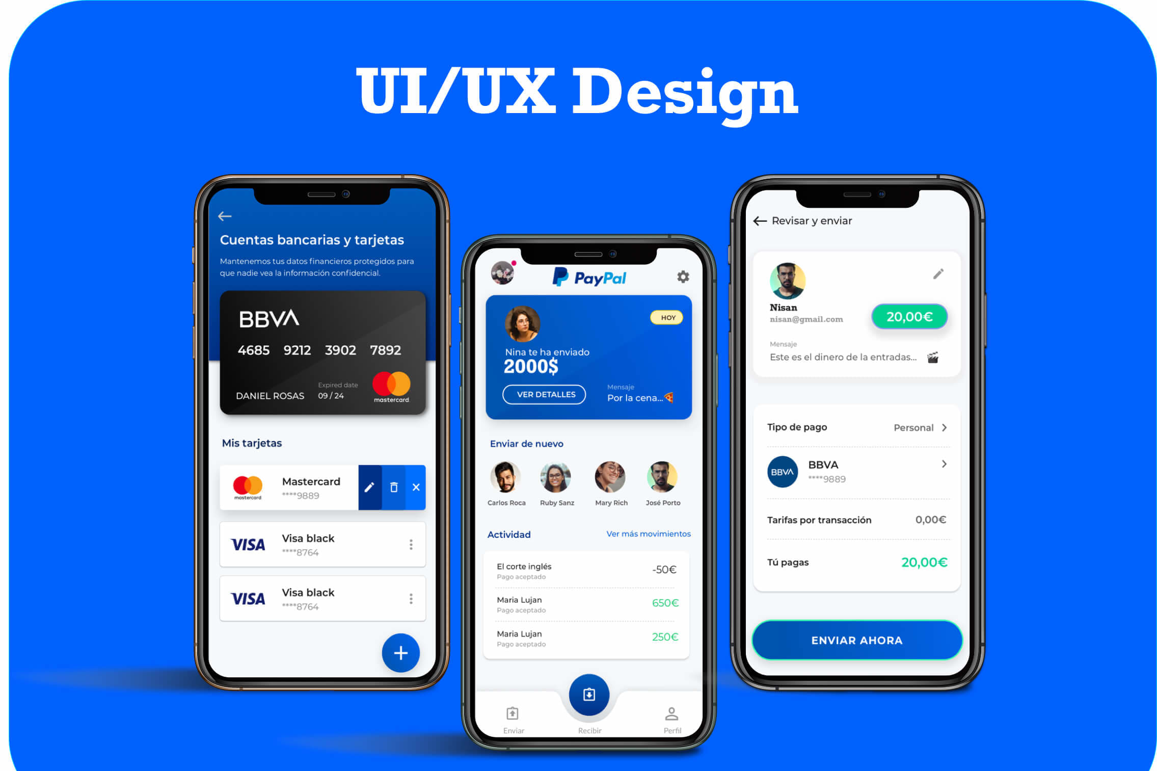 Portfolio for Web & Mobile app design UI/UX