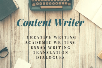 Portfolio for Content and Academic writer