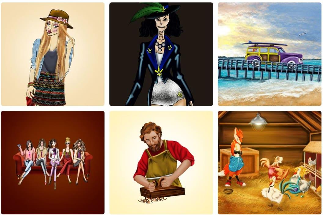 Portfolio for 2D & 3D illustration