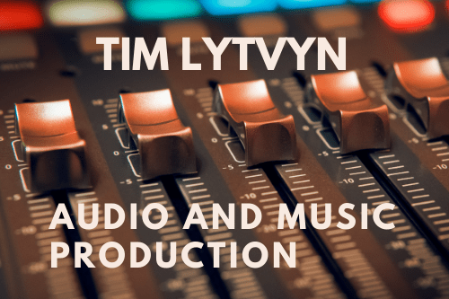 Portfolio for Audio Production, Mixing and Mastering
