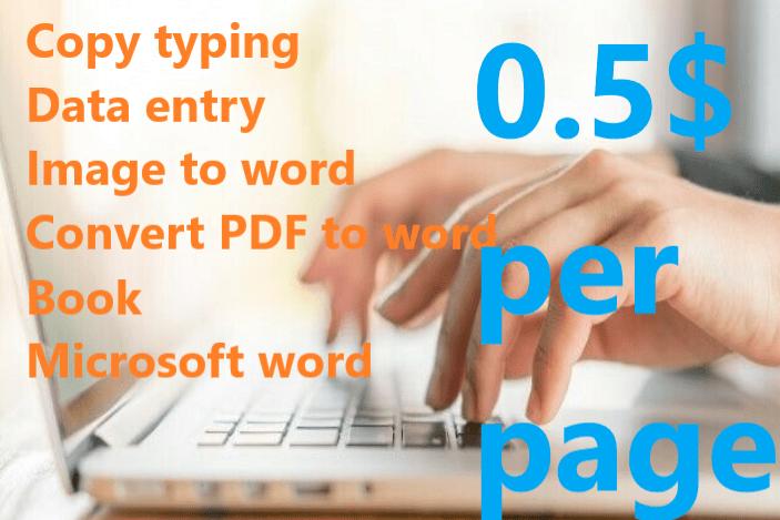 Portfolio for copy writing , converting files