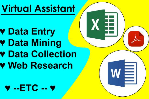 Portfolio for Virtual / Administrative Assistance