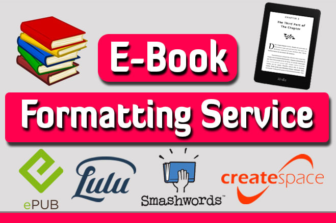 Portfolio for Format your book to paperback and ebook