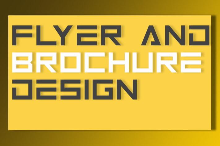 Portfolio for Flyer and Brochure Design