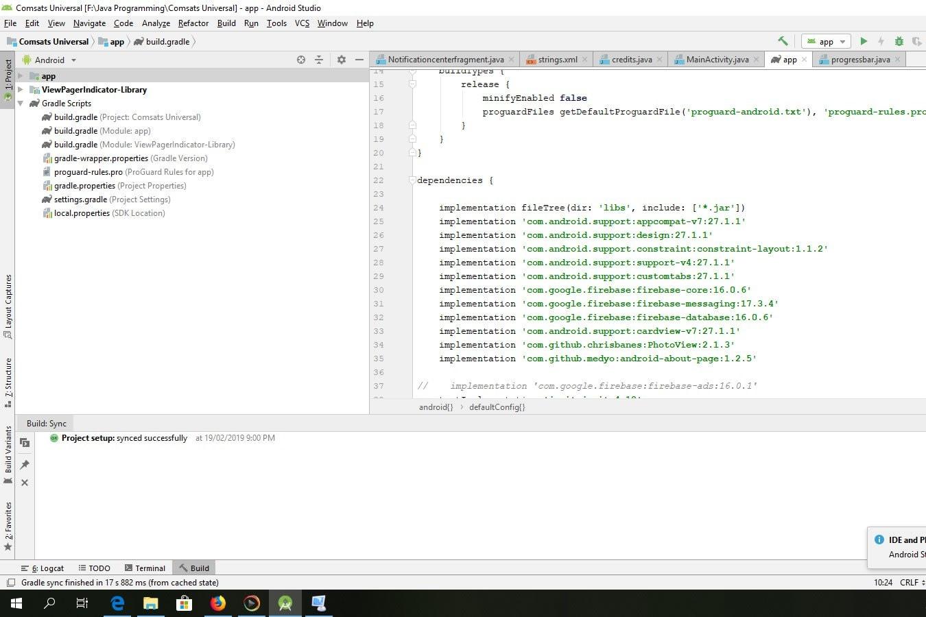 Portfolio for Native/Hybrid Mobile Apps Developer