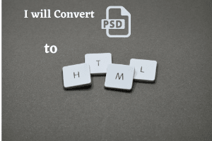 Portfolio for PSD to HTML conversion