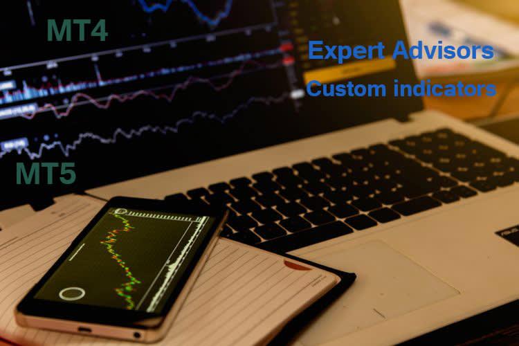 Portfolio for Create mt4, mt5 expert advisors
