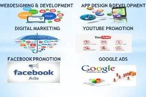 Portfolio for Website, Mobile App & Digital Marketing