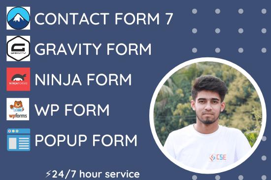Portfolio for WordPress Contact Form