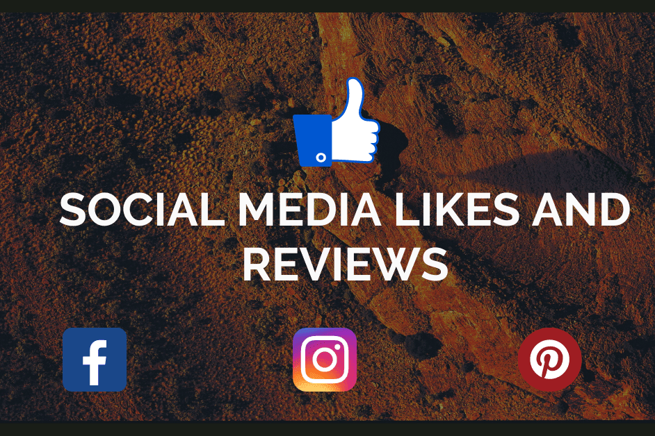 Portfolio for social media likes and reviews