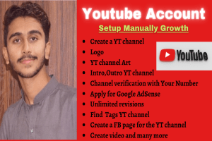 Portfolio for Manage and setup youtube channel