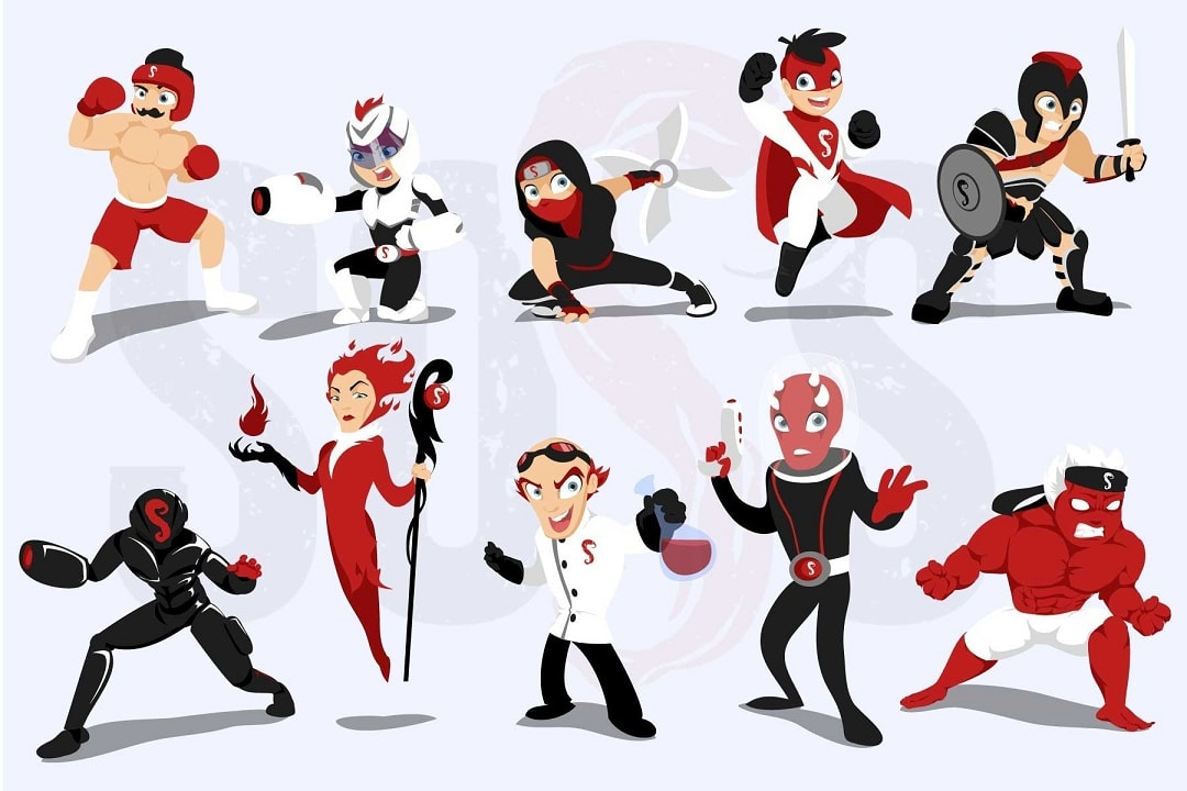 Portfolio for Illustration Design : Comic Book: Mascot